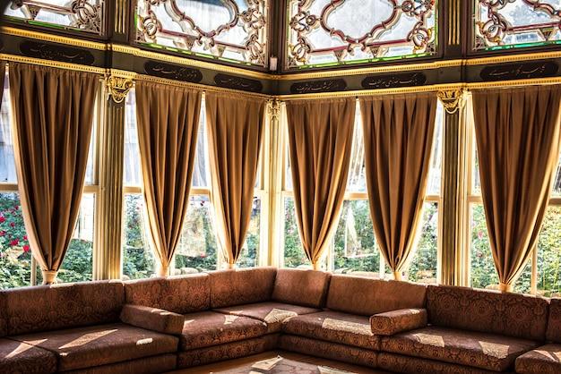 Widok wnętrza budynku w stambule, turcja