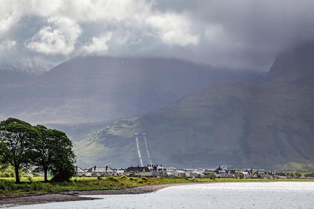 Widok wsi corpach w szkocji 19 maja 2011 r.