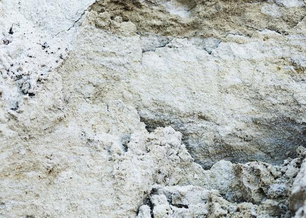 Widok z góry cementu pęknięty tło