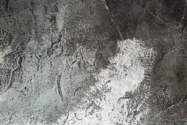 Widok z góry ciemnoszare tło