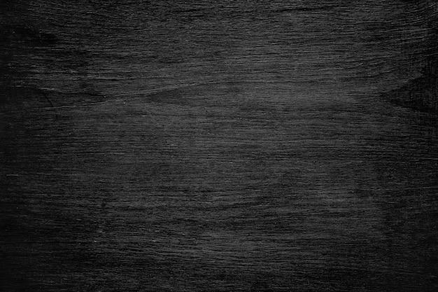 Widok z góry czarna tekstura drewna. koncepcja tło czarny piątek.