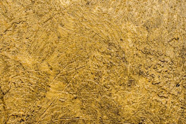 Widok z góry elegancki brokat złote tło