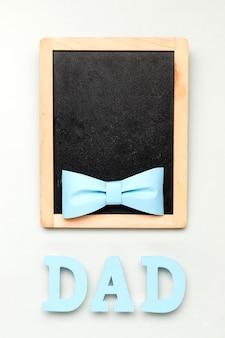 Widok z góry koncepcja dzień ojca