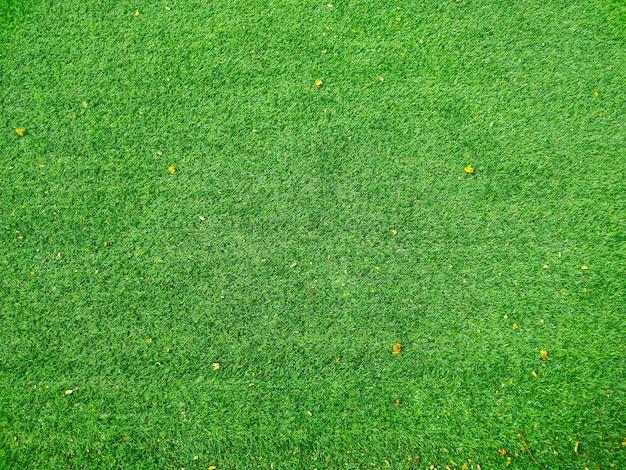 Widok z góry na boisko do piłki nożnej lub boisko do piłki nożnej tekstura tło zielona trawa latem