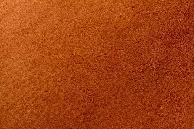 Widok z góry na brązowy ręcznik tekstury tła