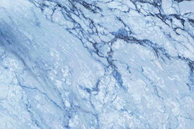 Widok z góry niebieski marmur tekstura tło, naturalne płytki kamienne podłogi