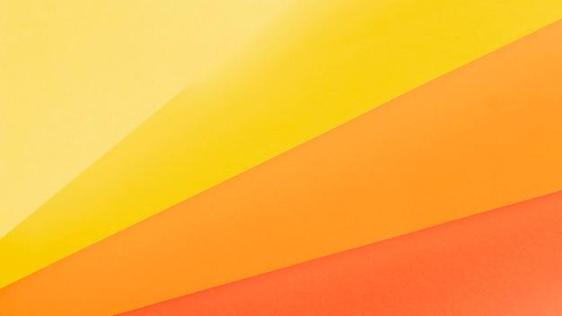 Widok z góry pomarańczowy wzór odcieni