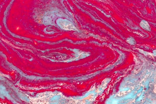 Widok z góry streszczenie farba akrylowa