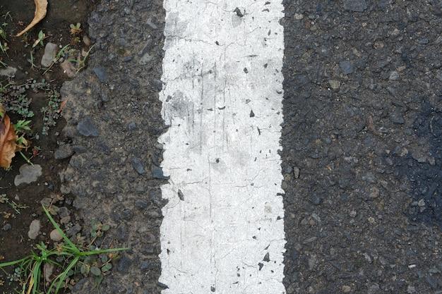 Widok z góry tekstury asfaltu na tle