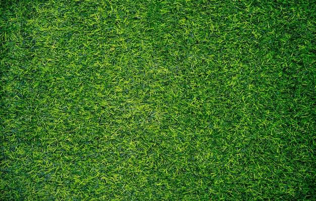 Widok z góry tekstury sztucznej trawy.