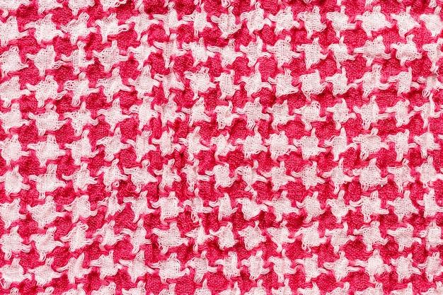 Widok z góry tekstyliów