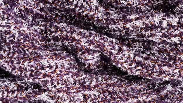 Widok z góry tkaniny
