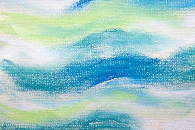 Widok z góry tła farby akwarelowej