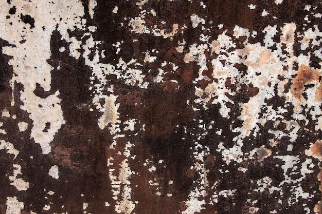 Widok z góry zbliżenie streszczenie metaliczne tło