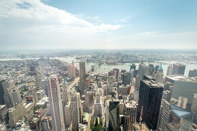 Widok Z Manhattanu Premium Zdjęcia