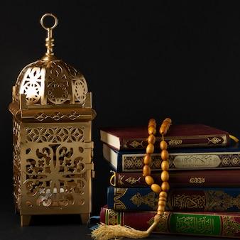 Widok z przodu koncepcja islamskiego nowego roku