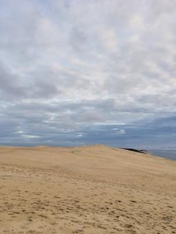 Widok z wydmy pyla, najwyższy w europie francja
