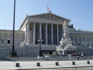 Wiedeń - izby parlamentu