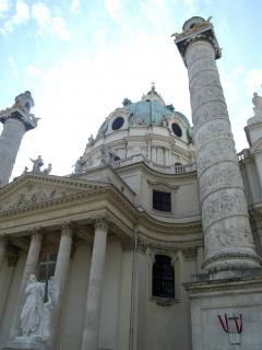 Wiedeń - karls kościoła