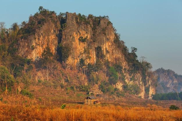 Wiejskie krajobrazy północnej tajlandii