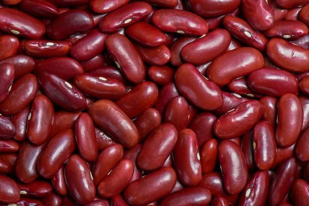 Wiele czerwona fasola lub tło fasola nerek