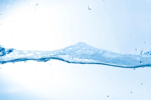 Wielka falista fala wody