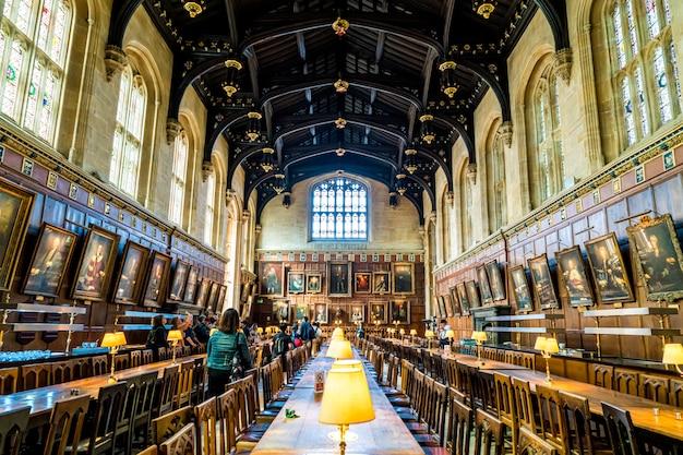 Wielka sala uniwersytetu oksfordzkiego