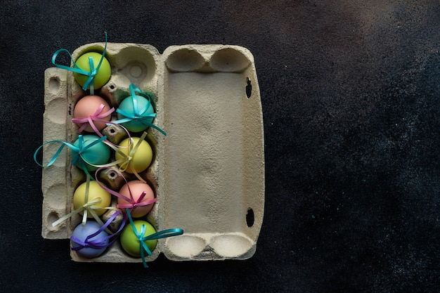 Wielkanocna karta świąteczna koncepcja
