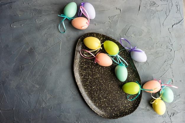 Wielkanocne nakrycie stołu