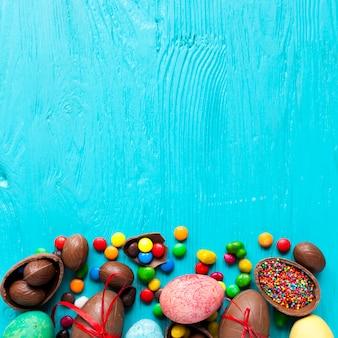 Wielkanocne Słodycze I Jajka Darmowe Zdjęcia