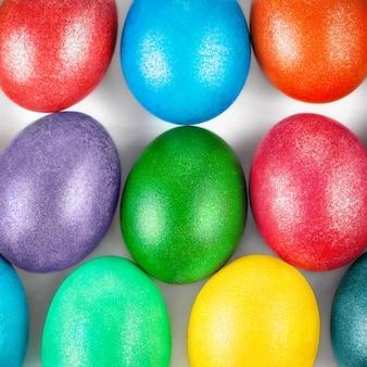 Wielkanocnych jajek tło