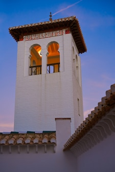 Wielki meczet mezquita granada w albaicin