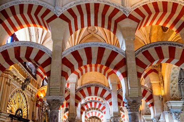 Wielki meczet w kordobie (la mezquita), hiszpania