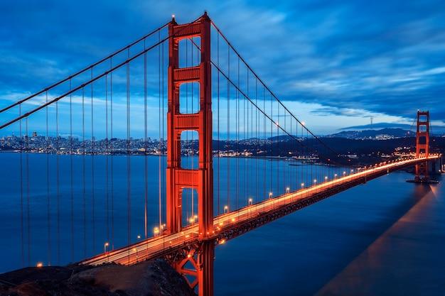 Wielki Most Golden Gate, San Francisco, Kalifornia, Usa Premium Zdjęcia