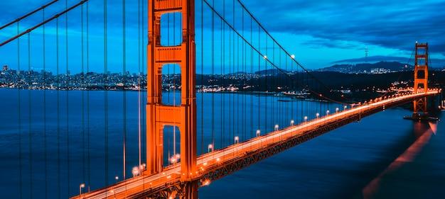 Wielki most golden gate, san francisco, kalifornia, usa