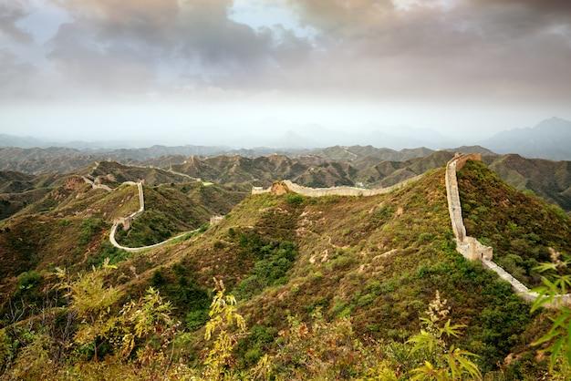 Wielki mur chiński.