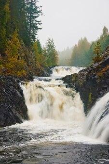 Wielki wodospad w skandynawii