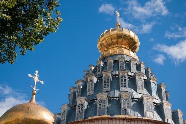 Wielkie klasztory rosji. nowy klasztor w jerozolimie, istra.