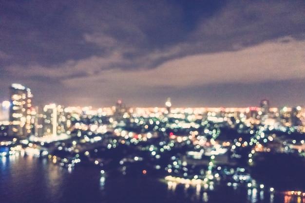 Wielkie miasto nocą