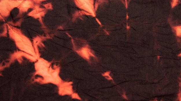Wielobarwna powierzchnia tekstylna typu tie-dye