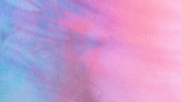 Wielobarwna powierzchnia tkaniny tie-dye