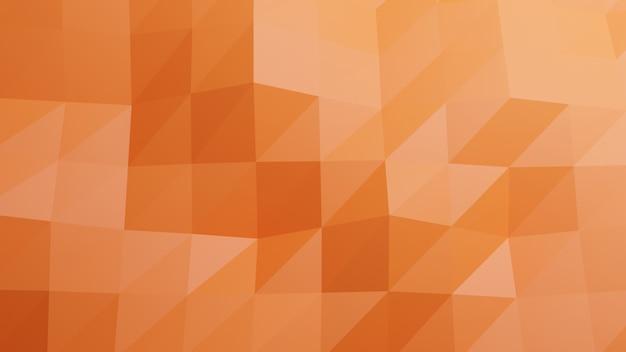 Wielobok pomarańczowy pastelowy kolor abstrakcyjne tło