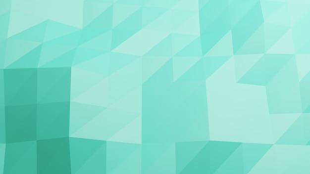 Wielobok zielony pastelowy kolor abstrakta tło