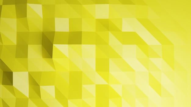 Wieloboka żółty pastelowy kolor abstrakta tło