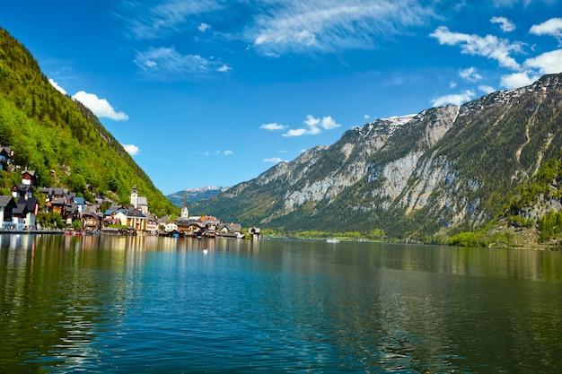 Wieś hallstatt, austria