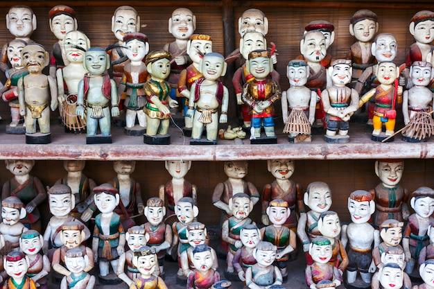 Wietnamskie lalki lalek. wietnam