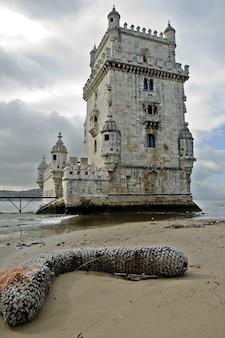 Wieża belem - lizbona - portugalia