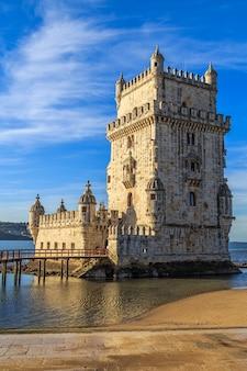 Wieża belem, lizbona, portugalia.