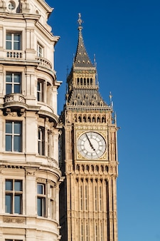 Wieża big ben w londynie