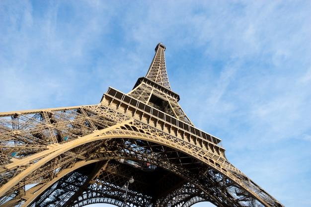 Wieża eiffla paryż, francja